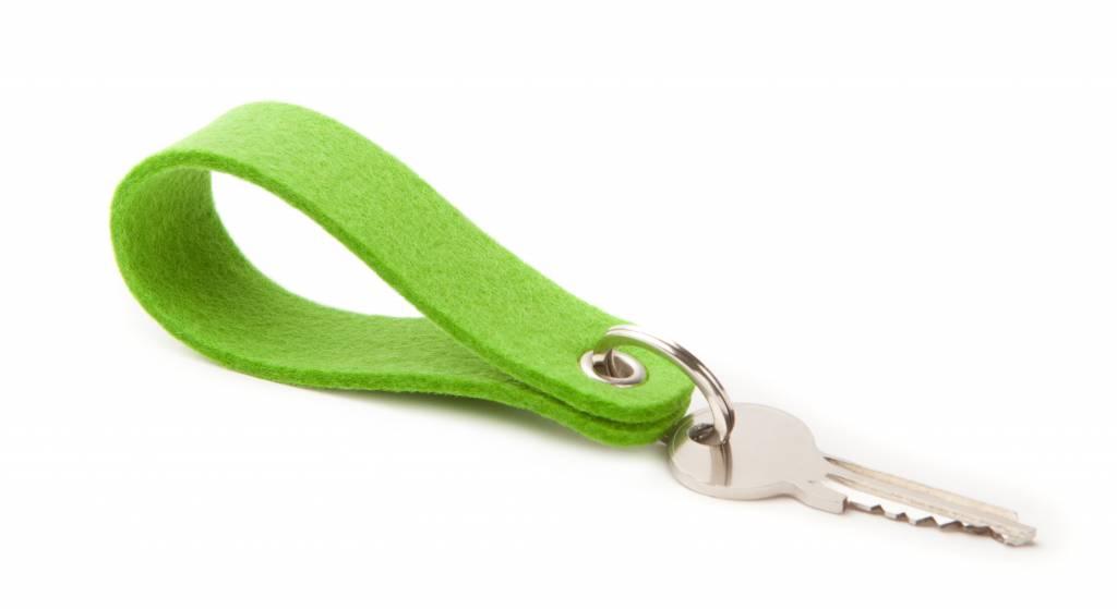 Keychain Bright-Green round-1