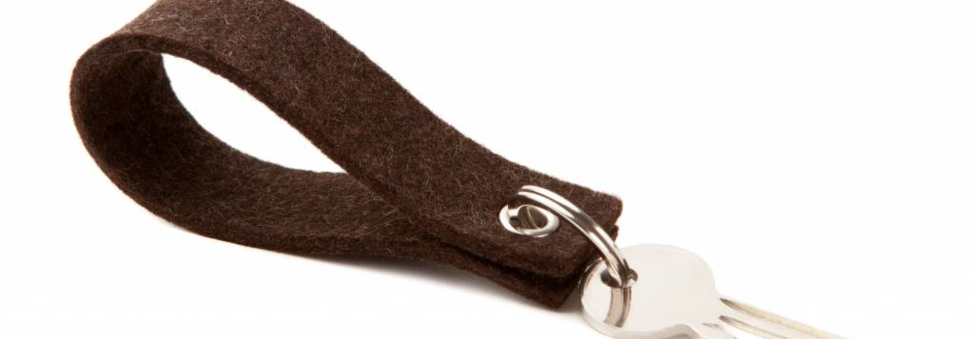 Keychain Truffle-Brown square
