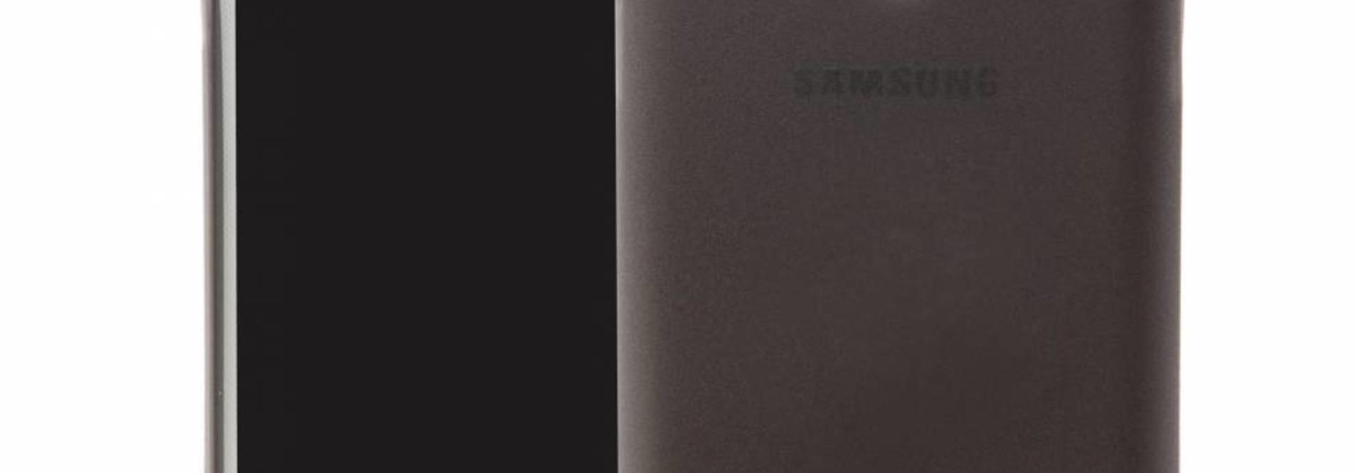 Galaxy Ultra Slim Case Schwarz