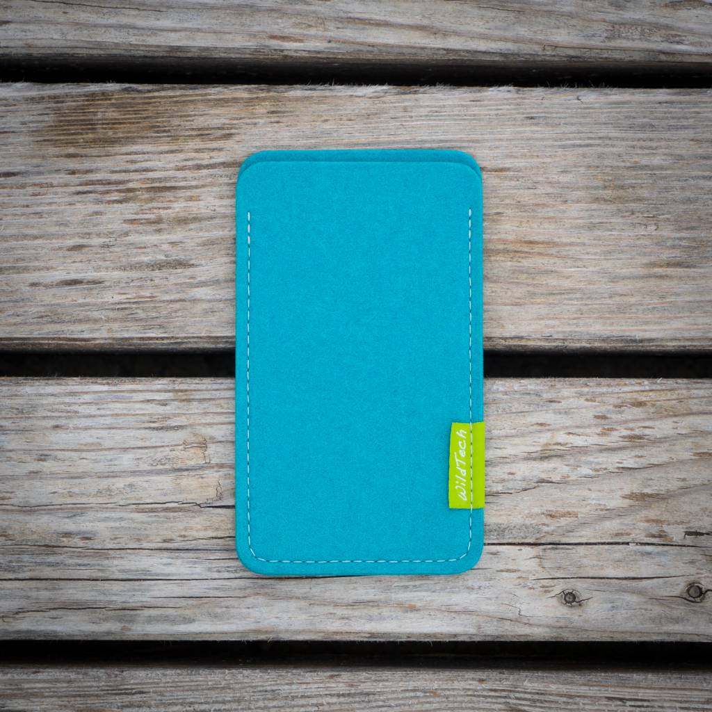 iPhone Sleeve Turquoise-2