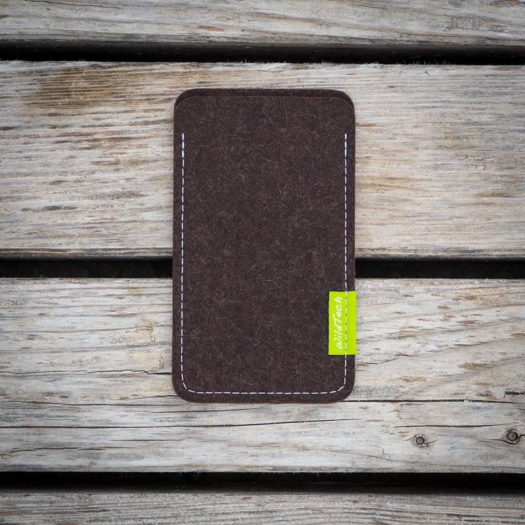 iPhone Sleeve Trüffelbraun-2