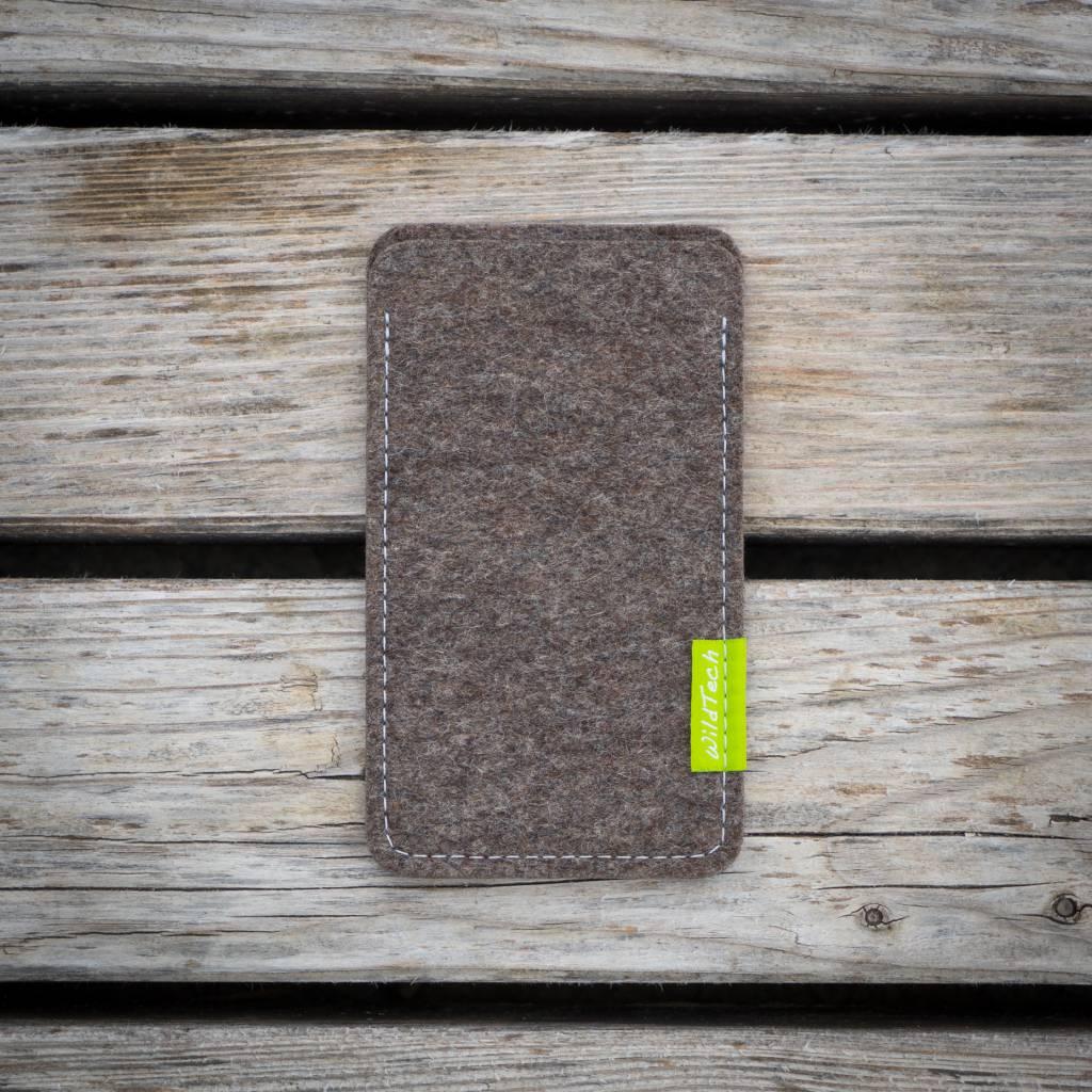 iPhone Sleeve Natur-Meliert-2