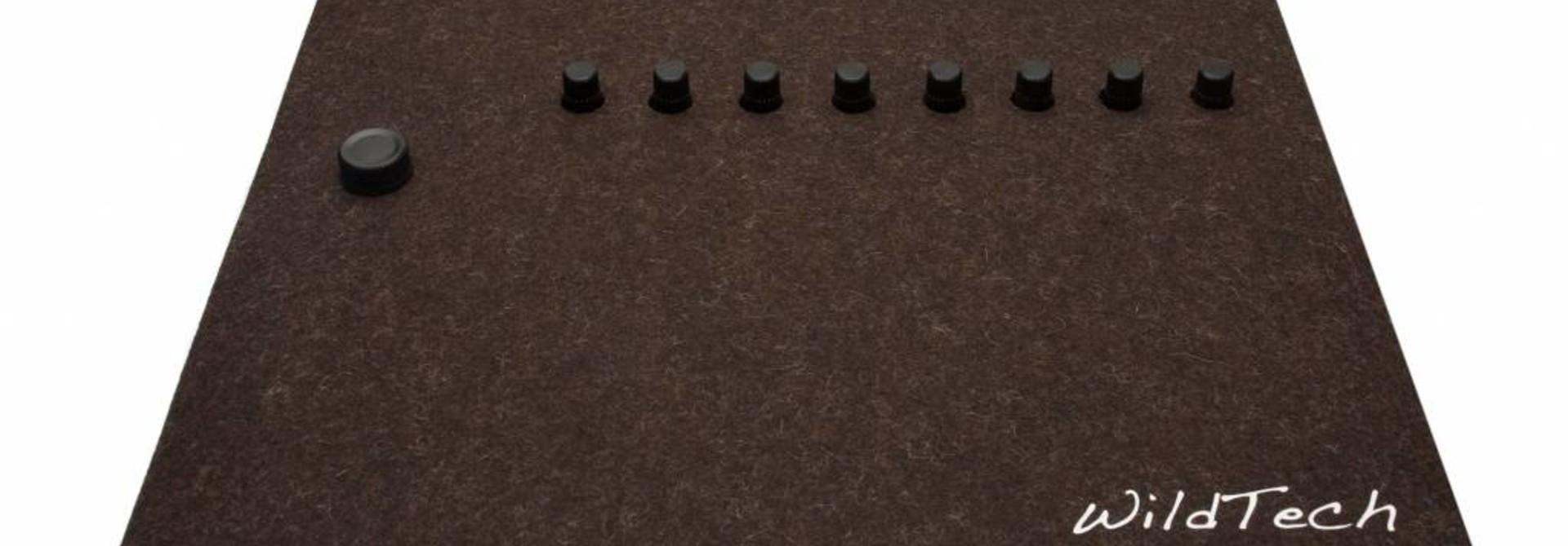 Maschine DeckCover Truffle-Brown