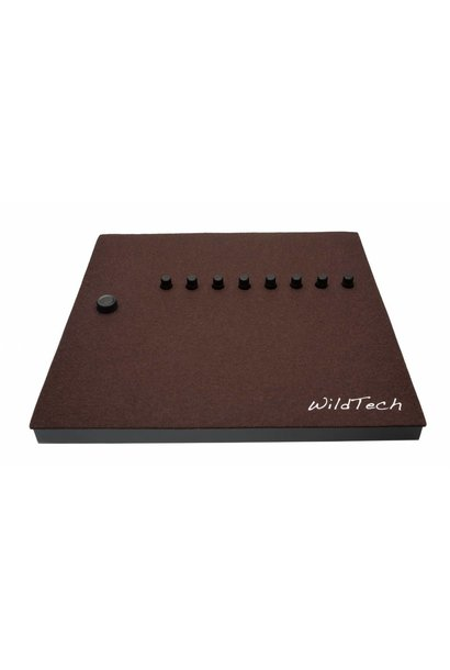 Maschine DeckCover Dark-Brown