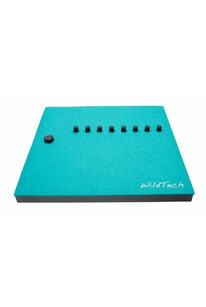 Maschine DeckCover Turquoise