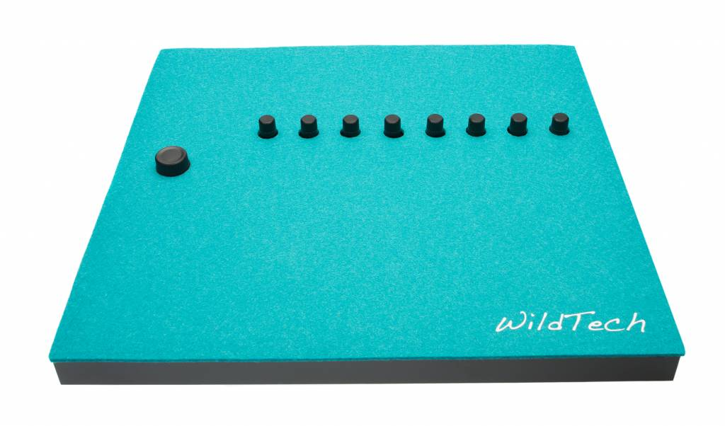 Maschine DeckCover Turquoise-1
