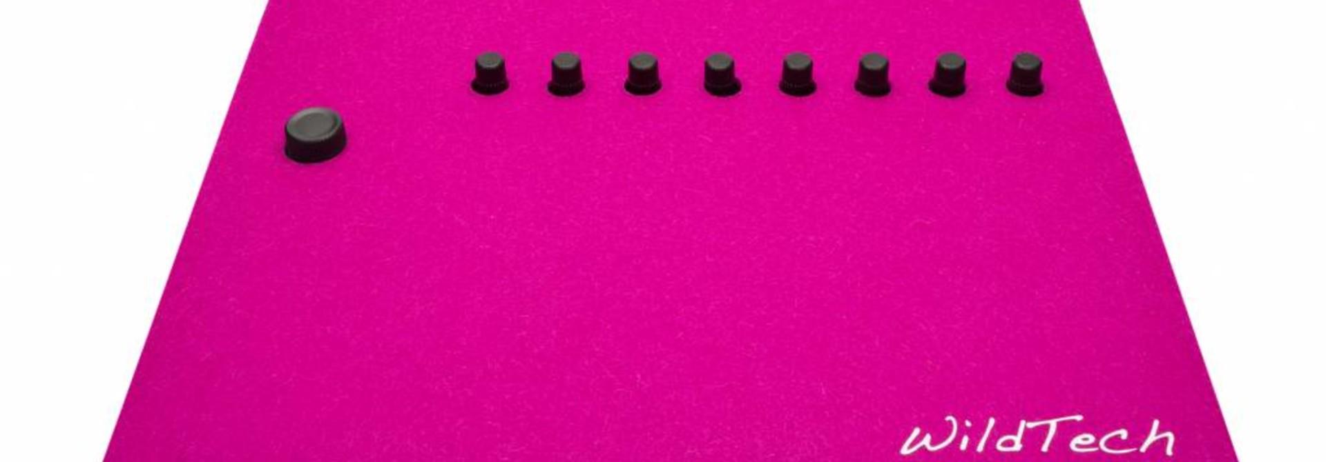 Maschine DeckCover Pink