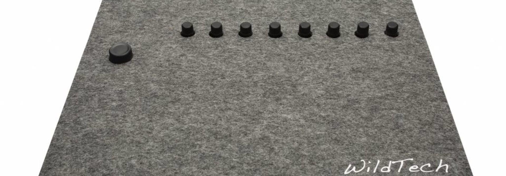 Maschine DeckCover Grau