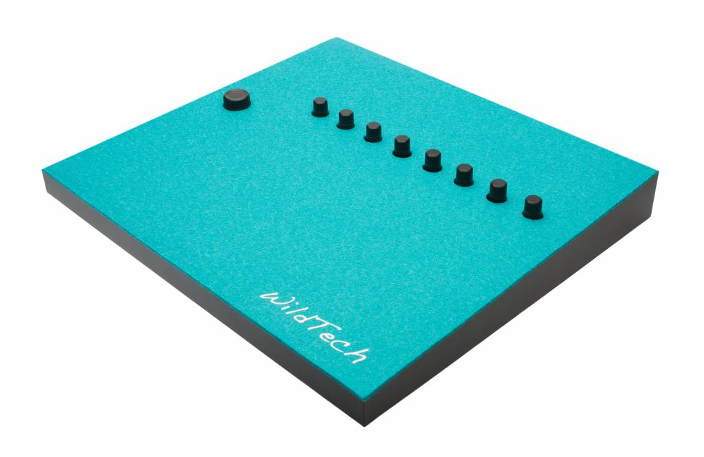 Maschine DeckCover Turquoise-3