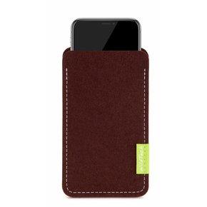 iPhone Sleeve Dark-Brown