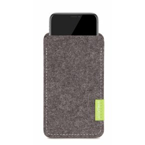 iPhone Sleeve Grau