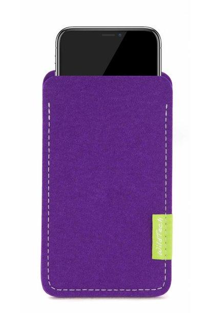 iPhone Sleeve Lila