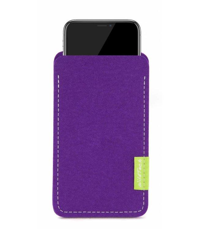 Apple iPhone Sleeve Lila