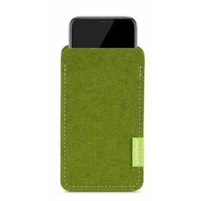iPhone Sleeve Farn-Green