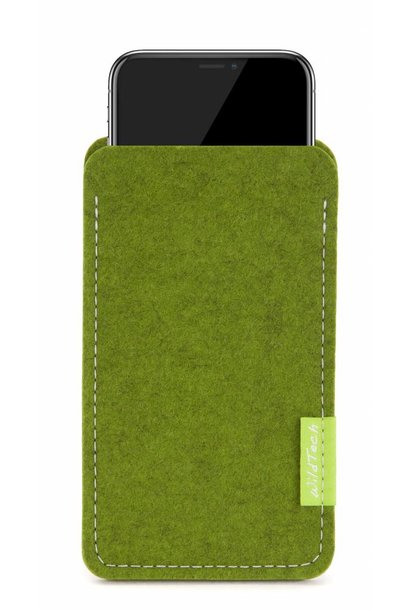 iPhone Sleeve Farn-Green