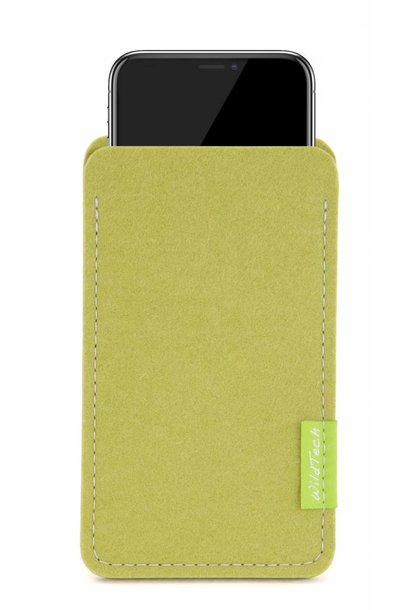 iPhone Sleeve Lime-Green