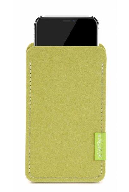 iPhone Sleeve Lindgrün