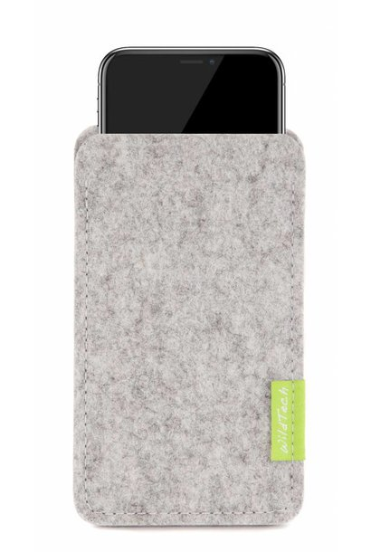 iPhone Sleeve Light-Grey