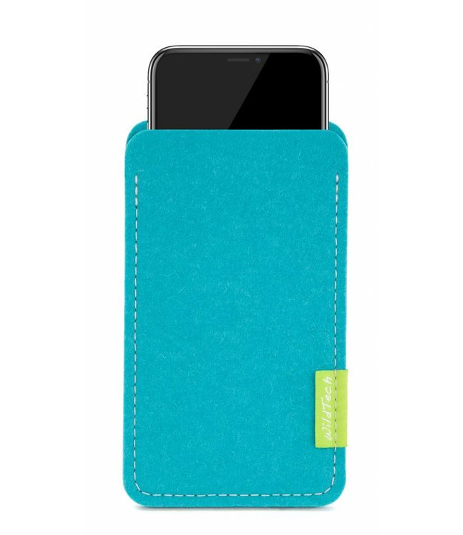 Apple iPhone Sleeve Turquoise