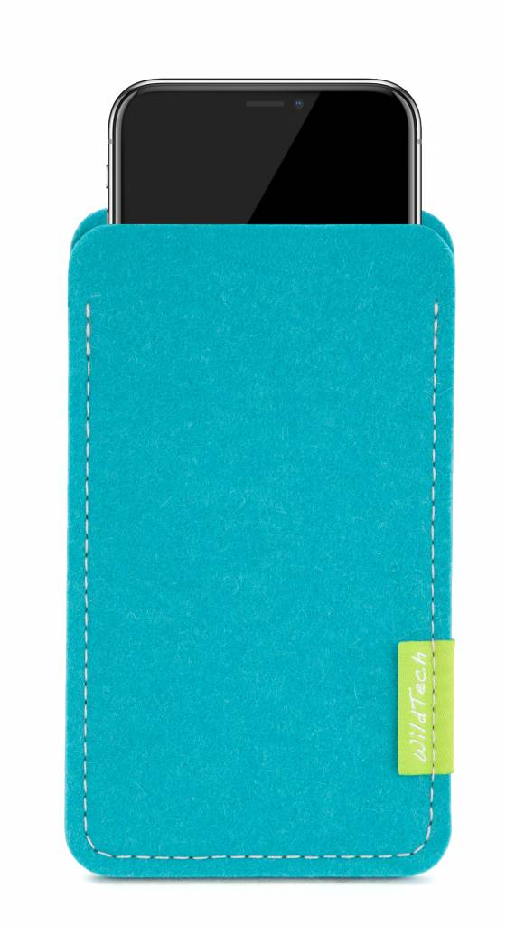 iPhone Sleeve Turquoise-1
