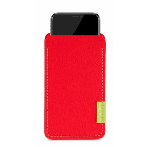 iPhone Sleeve Bright-Red