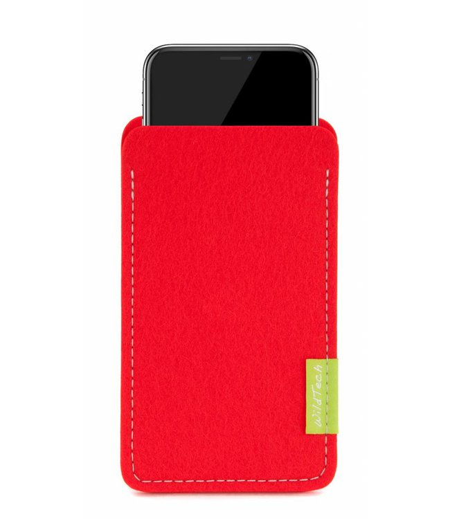 Apple iPhone Sleeve Bright-Red