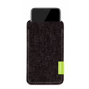 iPhone Sleeve Anthrazit