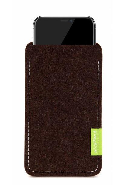 iPhone Sleeve Trüffelbraun