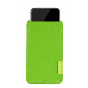 iPhone Sleeve Maigrün