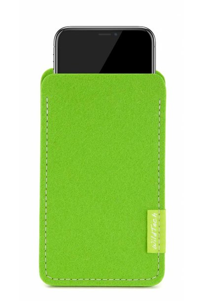 iPhone Sleeve Bright-Green