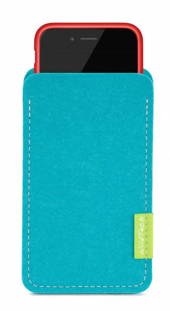 iPhone Sleeve Turquoise-3
