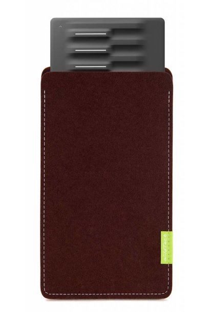 Seaboard Block Sleeve Dark-Brown
