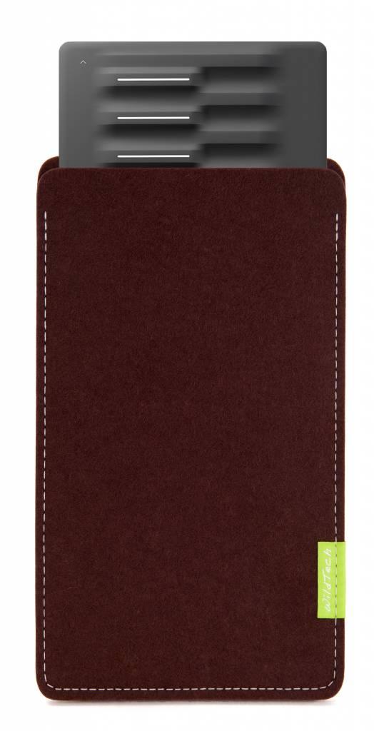 Seaboard Block Sleeve Dark-Brown-1