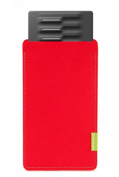 Seaboard Block Sleeve Bright-Red