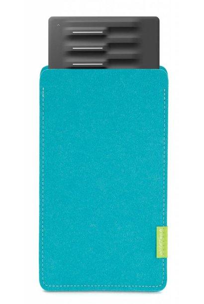 Seaboard Block Sleeve Turquoise