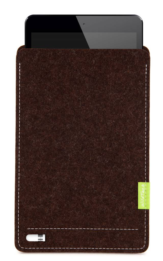 iPad Sleeve Truffle-Brown-4