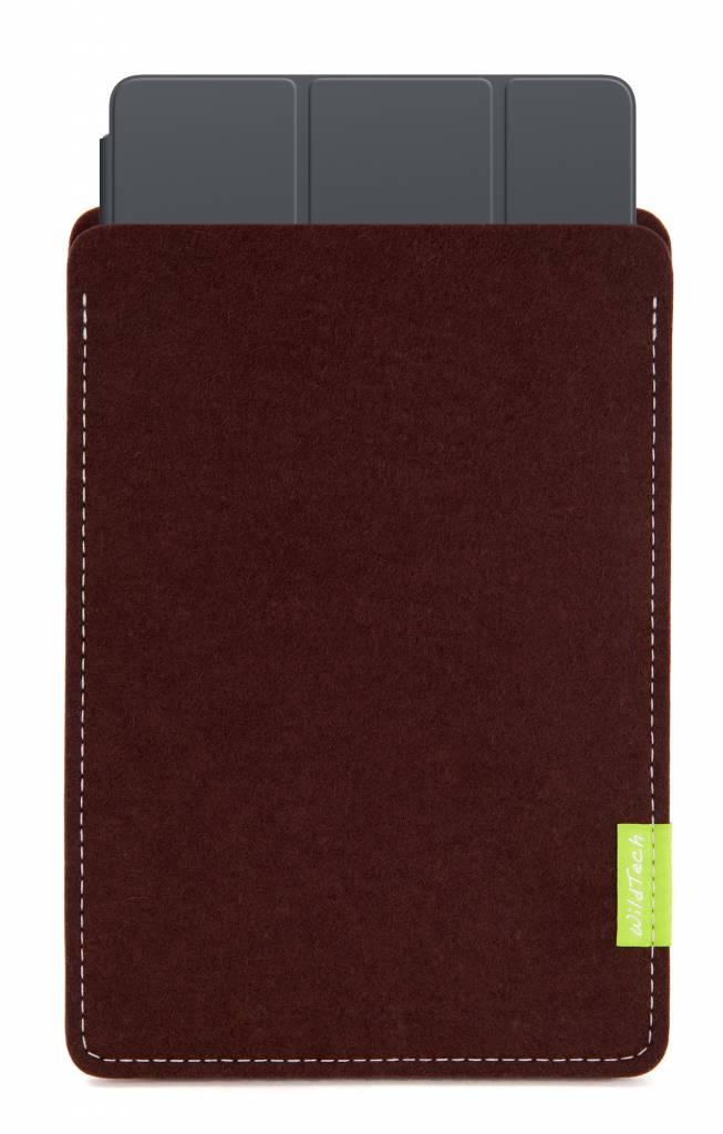 iPad Sleeve Dunkelbraun-2