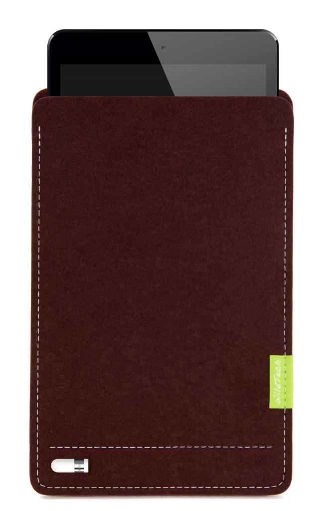 iPad Sleeve Dunkelbraun-3