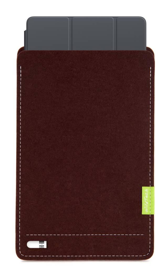 iPad Sleeve Dunkelbraun-4
