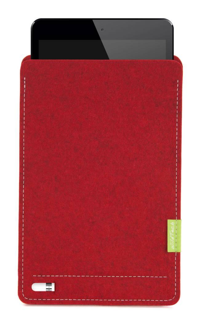 iPad Sleeve Kirschrot-4