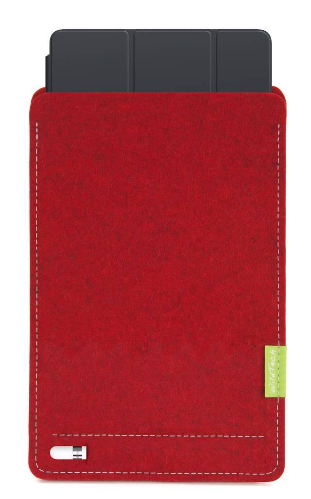 iPad Sleeve Kirschrot-5