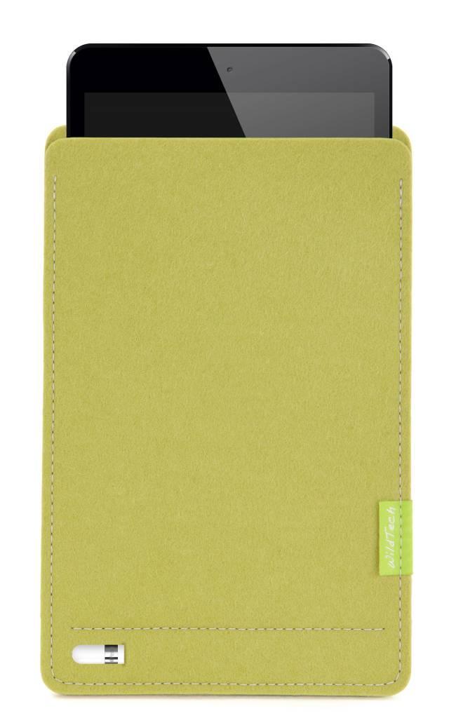 iPad Sleeve Lindgrün-4