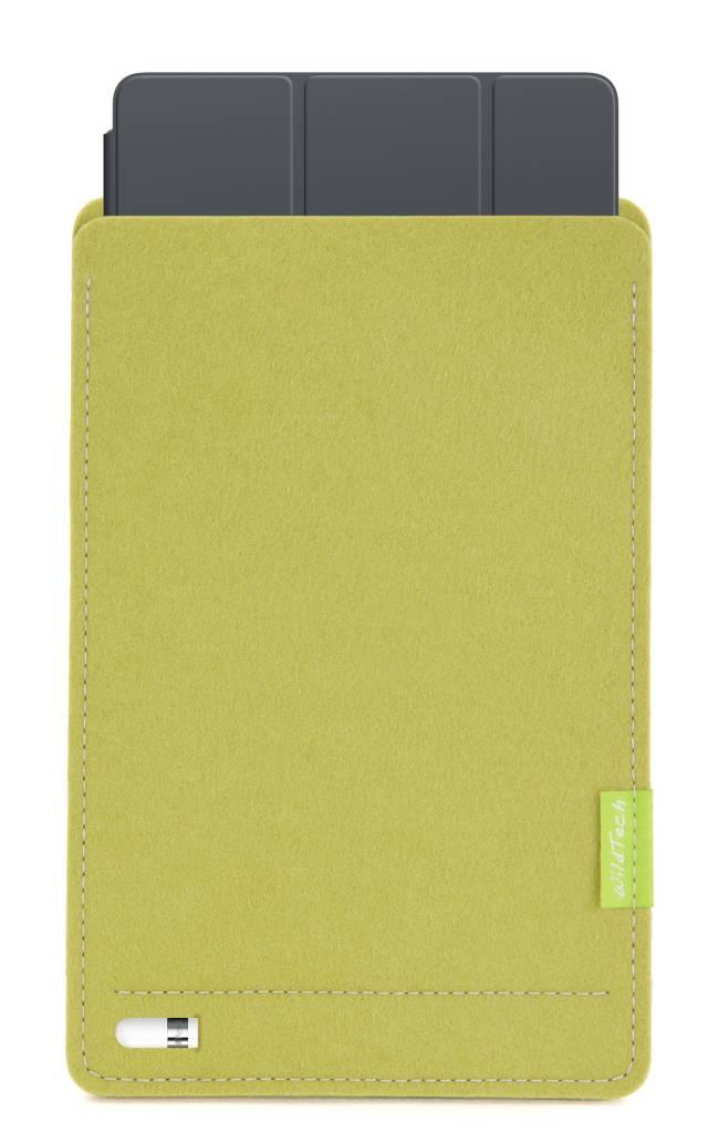 iPad Sleeve Lindgrün-5