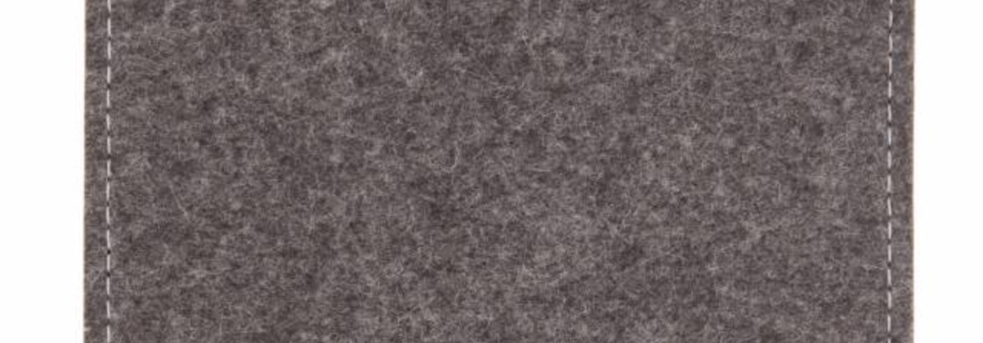 Chromebook Sleeve Grau