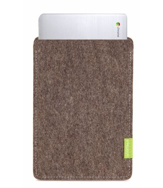 Google Chromebook Sleeve Natur-Meliert