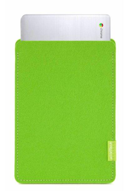 Chromebook Sleeve Bright-Green
