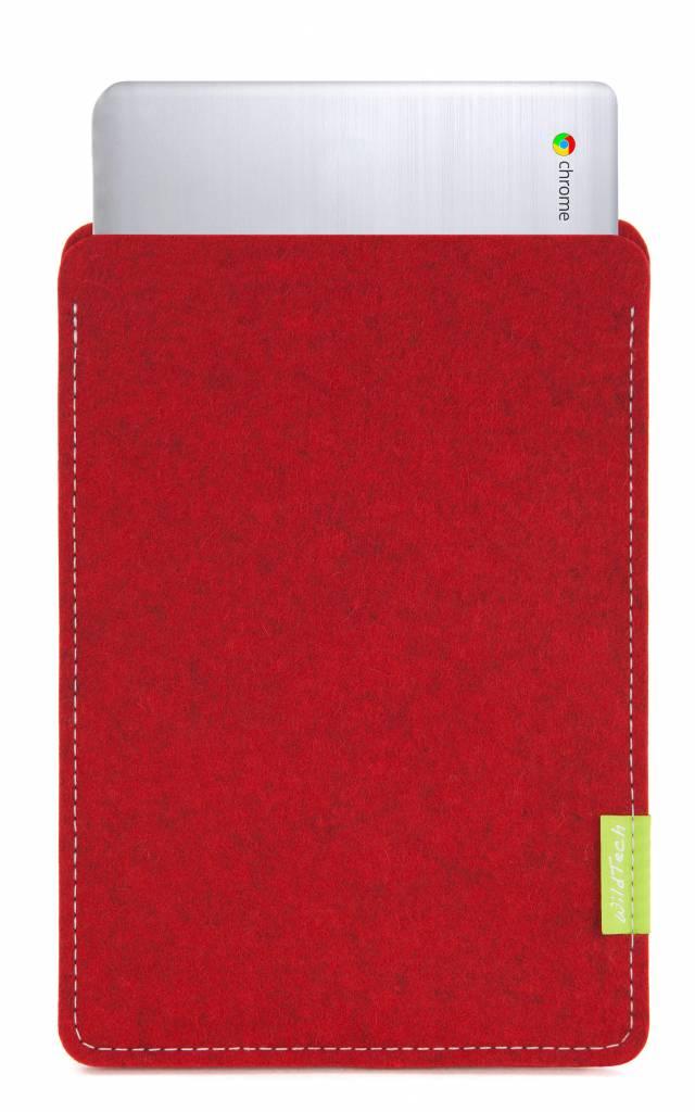 Chromebook Sleeve Kirschrot-1