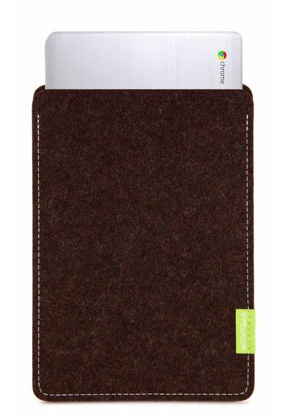 Chromebook Sleeve Trüffelbraun