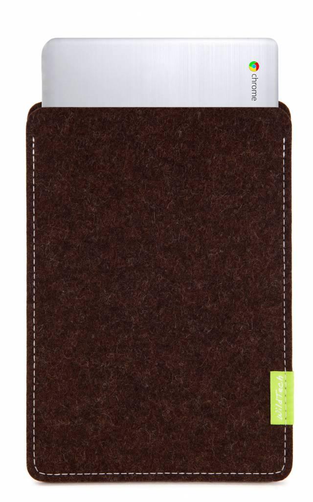 Chromebook Sleeve Trüffelbraun-1