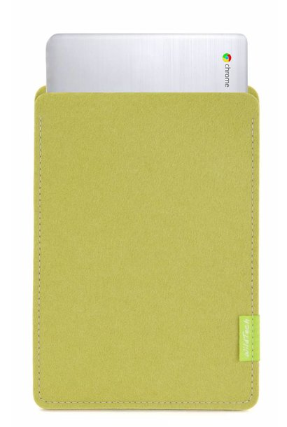 Chromebook Sleeve Lindgrün